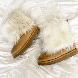 Gap Faux Fur Toddler Boots